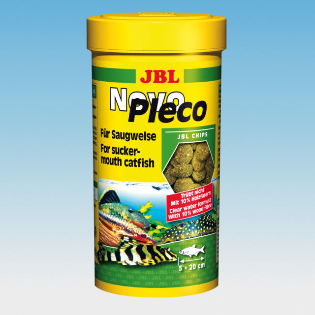 JBL NovoPleco 5,5 Liter  Novo Pleco Futterchips 5500 ml Futter Chips Tabletten