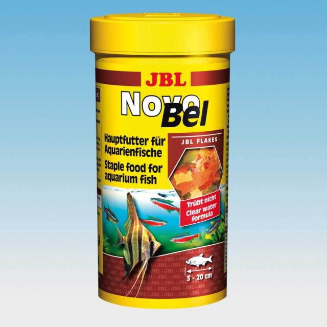 JBL NovoBel 5,5l - Flockenfutter Futter Fische Futterflocken Flocken Novo Bel