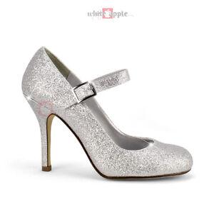 Mary-Jane-Round-Toe-High-Heels-Ankle-Strap-Soda-Pump-Dress ...