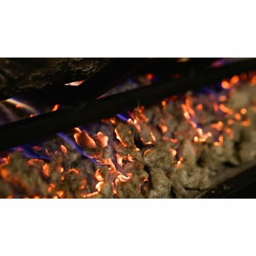 Regal Flame Bright Rock Wool Gas Fireplace Glowing Embers for Gas Logs