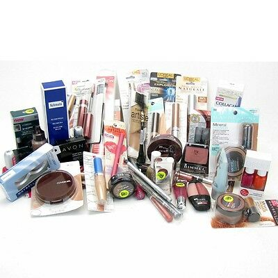 30x MIXED COSMETICS BRANDED MAKE UP PARTY BAG WHOLESALE BUNDLE JUST 43p EACH