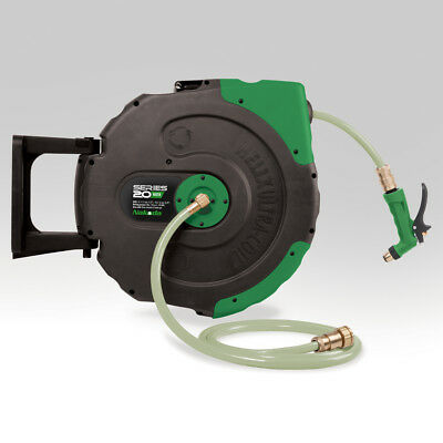 Heavy Duty Nakoda Helix Power Washer Jet Wash Low Pressure Hose Reel 20 Metre