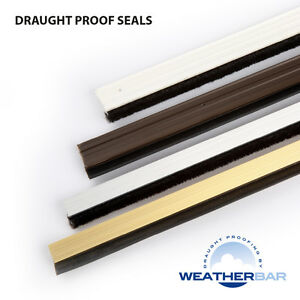 Weatherbar-Draft-Draught-Excluding-Door-Window-Seal-Sets-PVC-or-Ally-Finishes
