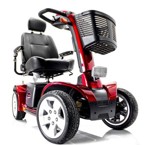 Pride Pursuit S713 Electric Mobility Scooter + 1-yr Service & Accessory Bundle