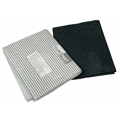 aktivkohlefiltermatte vliesfiltermatte hotte DE cuisinière universel 570x470 mm