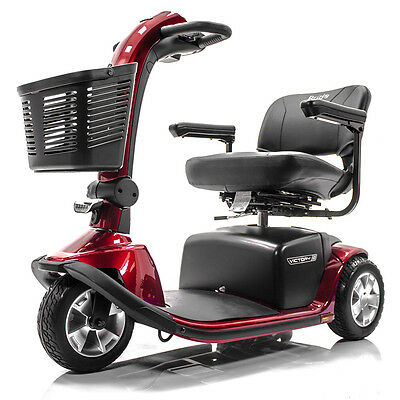 Pride VICTORY 10 3-Wheel Electric Mobility Scooter SC610 + FREE ACCESSORIES