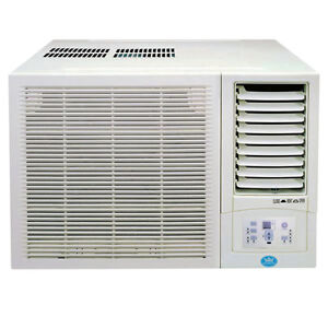 Prem i air 12000 btu window unit air conditioner with for 12000 btu ac heater window unit