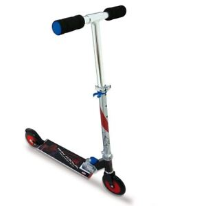Marvel Ultimate Spiderman Inline Fold Up 2 Wheel Scooter