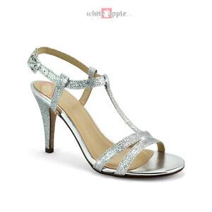 Open toe ankle strap mid high heels dress sandal classified begin