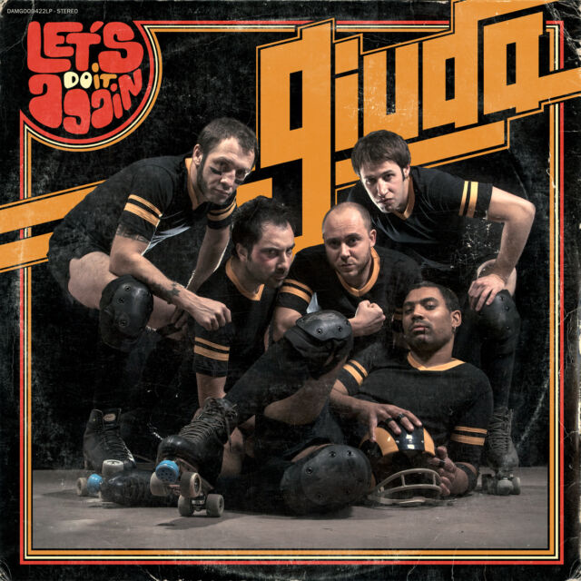 "Giuda - Let's Do It Again (12"" vinyl LP) FUNGO RECORDS Italian Pressing"