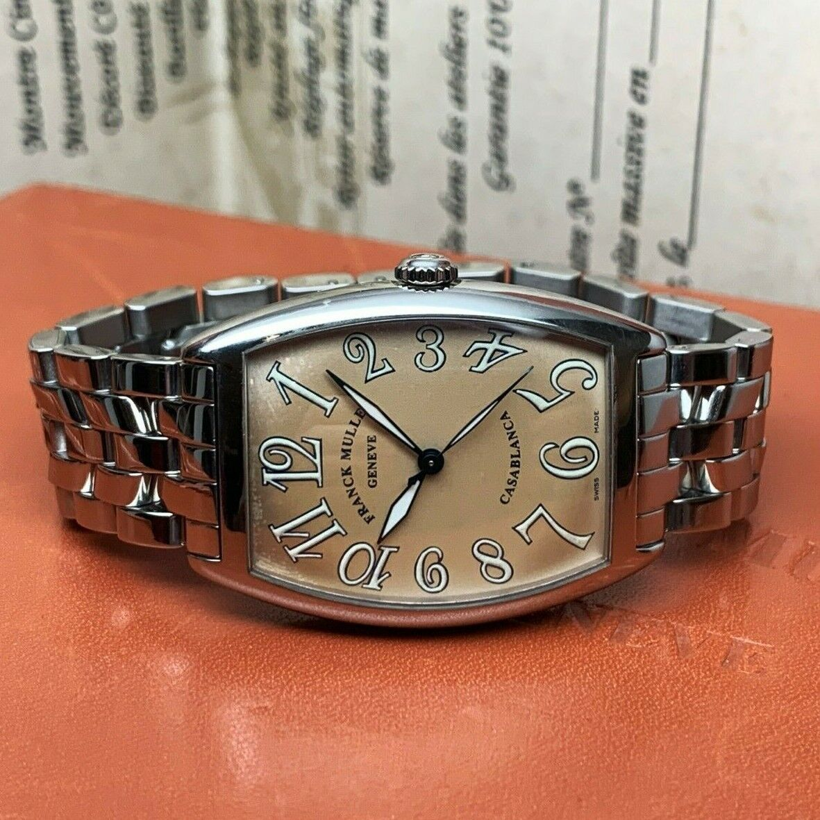 FRANCK MULLER Casablanca Ref. 2825 Automatic Swiss Watch Master of Complications - watch picture 1