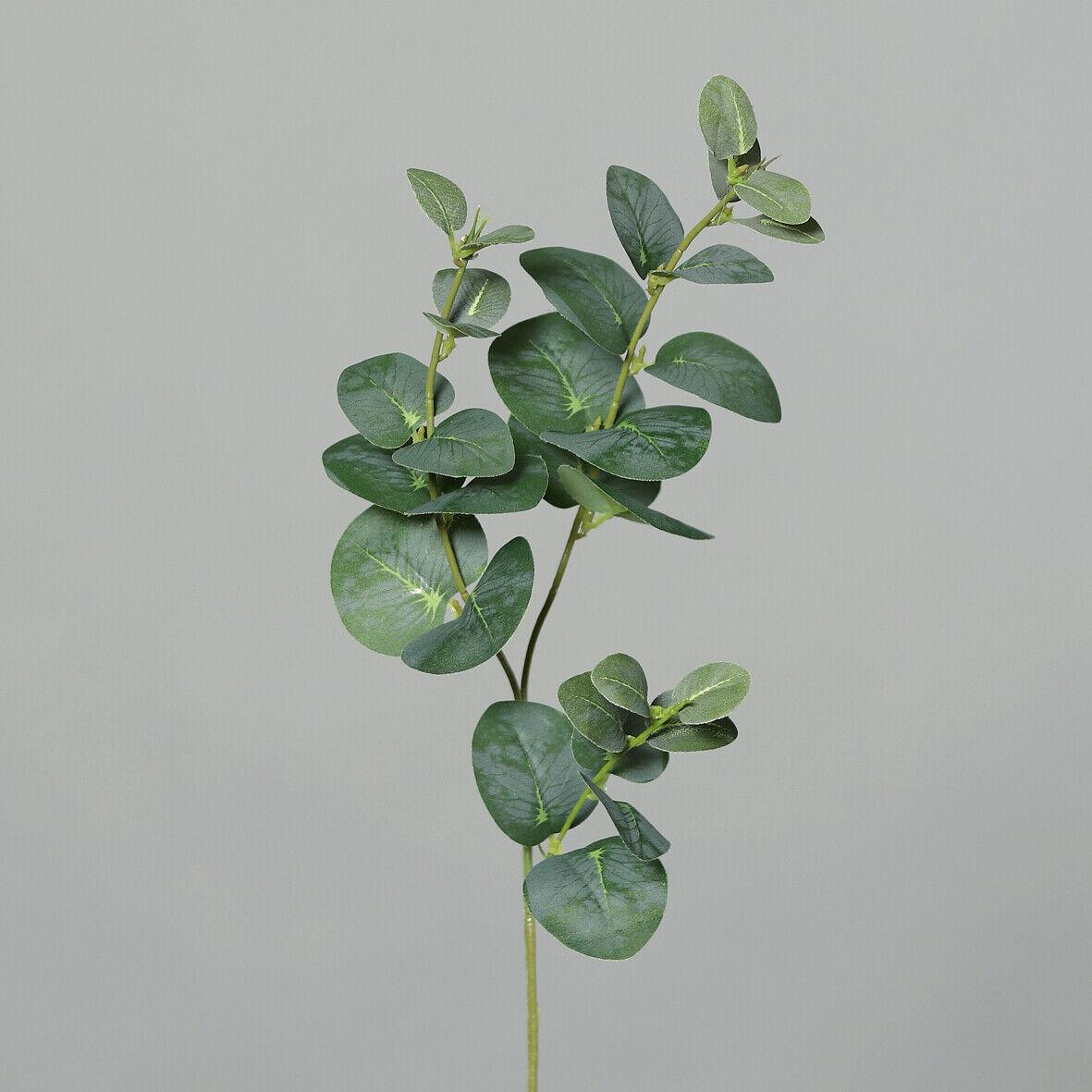 Eukalyptuszweig 65cm grün DP künstliche Zweige künstlicher Eukalyptus