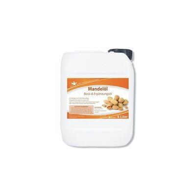 Mandelöl 5 Liter Massageöl Entspannung Wellness raffiniert Massage Mandel Öl KK