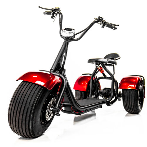 EWheels EW-21 CHOPPER TRIKE Electric Mobility Scooter ~18mph lithium Power NEW