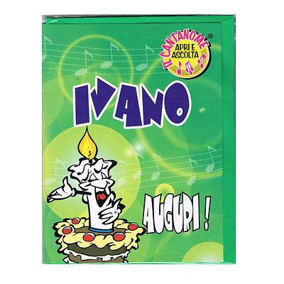 Geburtstag Singt (Geburtstag Karte Musical singt Nome Hadi viele Grüße für Sie)
