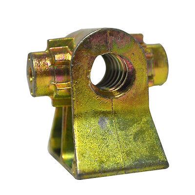 Spindelmutter für normale Steckstützen 16 mm Stahl 4-Kant standardstütze
