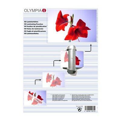 OLYMPIA Laminierfolie 50 X DIN A3 125 Mikron