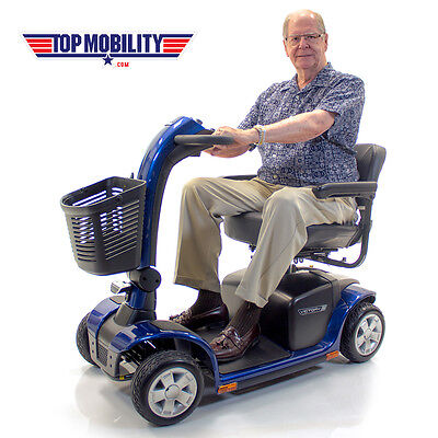 Pride VICTORY 10 Electric Mobility Scooter SC710 4-Wheel Used Senior Best Buy