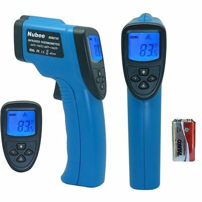 Temperature Gun Non-contact Infrared Ir Thermometer Range -58f To 1382f W Laser