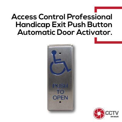 Access Control Handicap Door Actuator Push To Open Button Stainless Steel