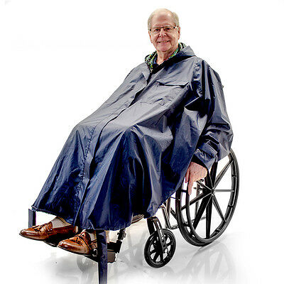 Warm Winter Rain Poncho Wheelchair, Electric Powerchair, ...