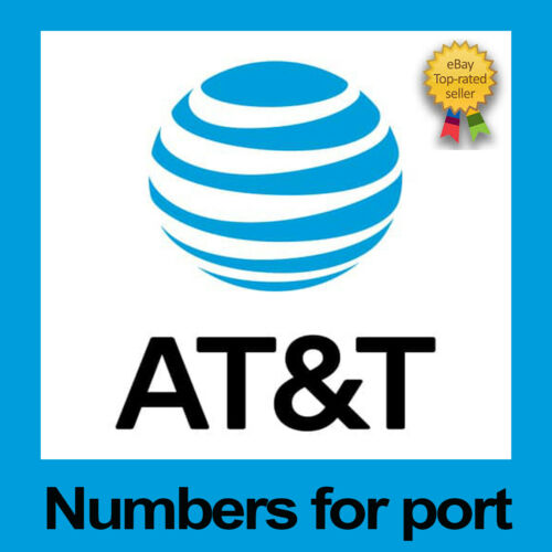 AT&T | Numbers to Port | Any Area Code | ATT | Phone Numbers for Port|Bulk Price