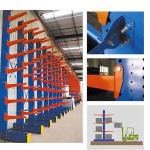 HEAVY DUTY CANTILEVER RACKING STORAGE PALLET RACKING WAREHOUSE Derrimut Brimbank Area Preview