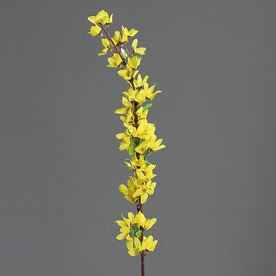 Forsythienzweig 80cm DP Kunstblumen künstliche Forsythie Blumen Seidenblumen