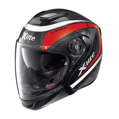 HELMET CROSSOVER X-LITE X-403 GT ULTRA Carbon MERIDIAN N-COM - 8 CARBON SIZE L for sale  Shipping to Canada