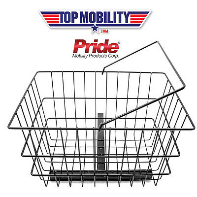 Pride Mobility Scooter REAR BASKET Center Support + Holding PIN - ACCBSKT1010 (Mobility Center)