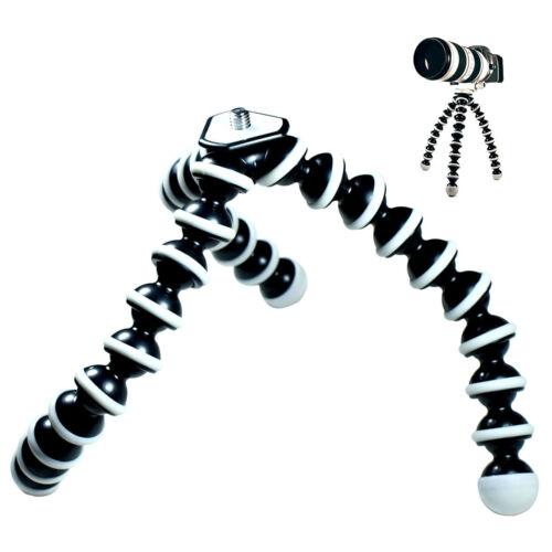 Large Flexible Tripod Stand Gorillapod For Camera Digital Dv Canon Nikon 9 Inch