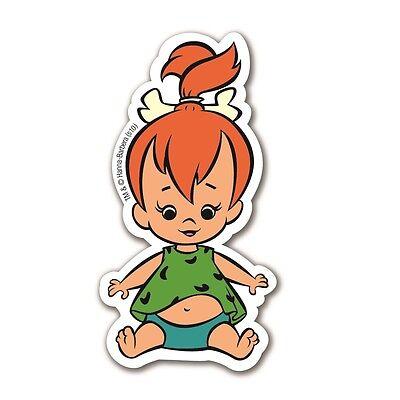 Cartoon: Flintstones: Familie Feuerstein - Pebbles Kühlschrankmagnet, (Flintstones Dekorationen)