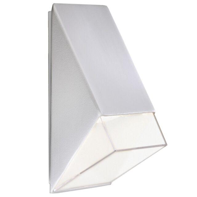 Designer Wandleuchte IP S11 Badleuchte IP44 GU10 weiss Nordlux Edge Alu Glas