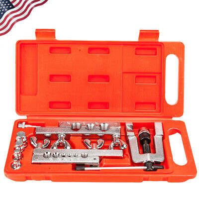 Hvac Flaring And Swaging Tool Kit Flares Od Soft Refrigeration Copper Tubing New