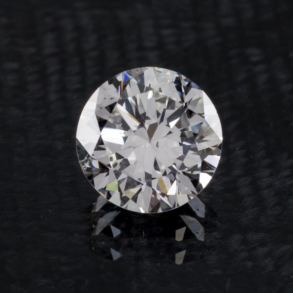 1.61 Carat Loose G / SI1 Round Brilliant Cut Diamond GIA Certified