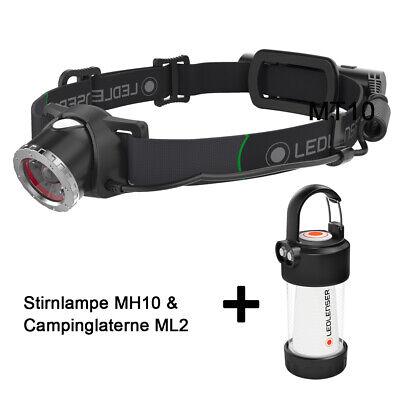 LED Lenser Exterior Linterna MH10 & Camping ML2 Set de Ahorro en...
