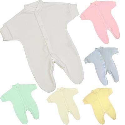 BabyPrem Premature Preemie Baby Clothes Sleepsuit Babygrow Sleeper Boys Girls