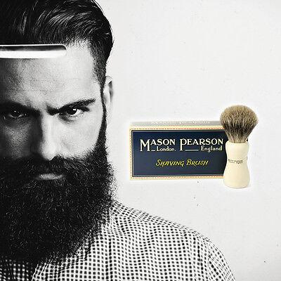 Mason Pearson Shaving Brush - Mason Pearson SHAVING BRUSH Ivory - Pure Badger Or Super Badger CHOOSE OPTION