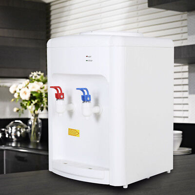 Electric Hot Cold Water Cooler Dispenser 3-5 Gallon Home Office Use Desktop