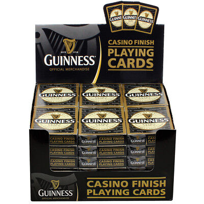 Guinness Extra Stout Label Casino Finish Playing Cards