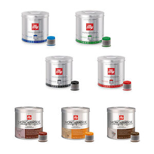 126 ILLY IPERESPRESSO coffee capsules 6 cans original pods all flavors available