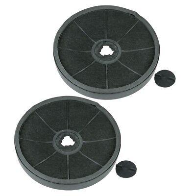 NEUF hotte DE cuisinière 2x dkf7 Filtre au CARBONE ACTIF Ø 231/235mm MIELE