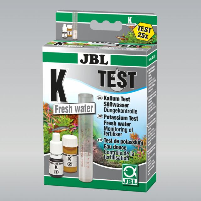 JBL K Kalium Test-Set  Test zur Bestimmung des Pflanzennährstoffes Kalium