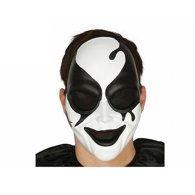 Maschera arlecchino killer in plastica halloween party e feste](Killer In Halloween)