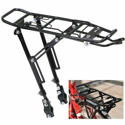 - Universal MTB Cycle Bike Bicycle Pannier Rear Rack Carrier Bracket Cargo Luggage