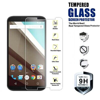 Genuine TEMPERED GLASS Invisible Screen Protector Cover for Motorola Moto C