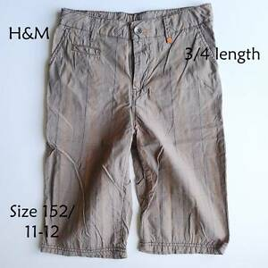 3/4 pants, boys, size 11-12 Marks Point Lake Macquarie Area Preview