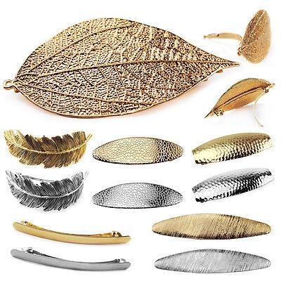 VINHK13-Vintage Haarklammer-Haarspangen-Gold silber Legierung-Headwear Hairclip ()