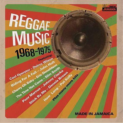 Reggae Music 1968-1975 NEW VINYL LP VOICE OF JAMAICA SKA ROCKSTEADY