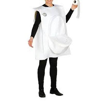 Costume water man / woman toilet man one size one size customizable](Halloween Toilet Costume)